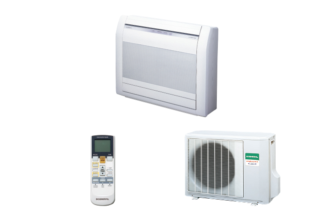air conditioner floor general aghg14lvca